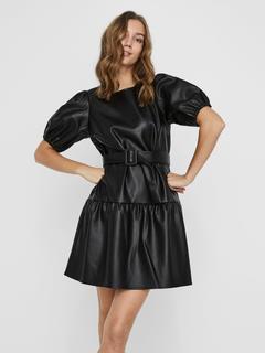 Vero Moda - Beschichtetes Kleid
