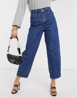 Levis - Jeans in Indigo mit Ballonbeinen-Blau