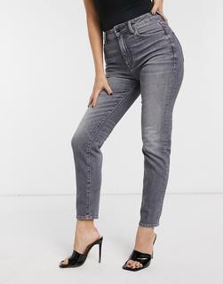 G-Star - 3301 – Mom-Jeans mit hohem Bund-Schwarz
