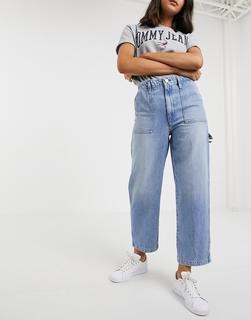 Tommy Jeans - Cargo-Jeans-Blau
