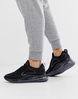 Nike - Air Max 720 – Schwarze Sneaker
