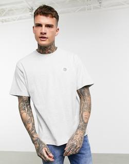 Celio - Graues T-Shirt mit Print auf der Brust