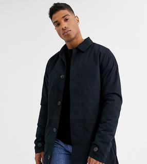 French Connection - Tall – Gefütterter Trenchcoat-Navy