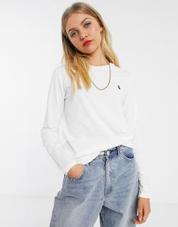 Polo Ralph Lauren - Langärmliges Shirt in Weiß