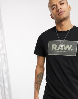 G-Star - Raw – Schwarzes T-Shirt