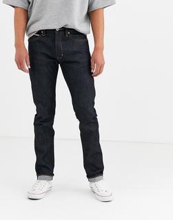 Neuw - Lou – Schmale ungesäumte Jeans-Blau