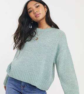 New Look Petite - Grüner Pullover
