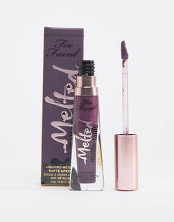 Too Faced Cosmetics - Too Faced – Melted Matte-tallics – Lippenstift - Scream My Name-Violett