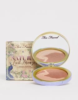 Too Faced Cosmetics - Too Faced – Natural Lust Satin – Bronzer-Duo-Braun