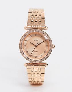 Fossil - ES4711 Lyric – Roségoldene Armbanduhr