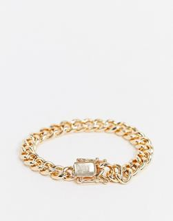 Chained & Able - Kettenarmband in Gold