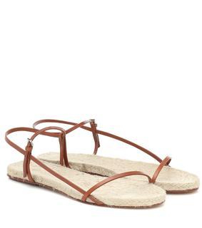 The Row - Sandalen Bare aus Leder