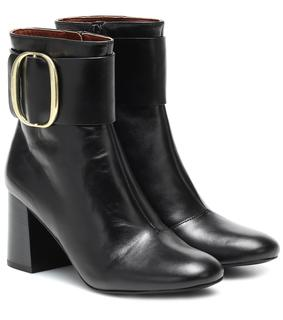 See by Chloé - Ankle Boots aus Leder