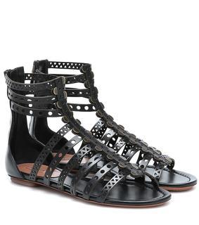 Alaïa - Sandalen aus Leder