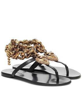Dolce & Gabbana - Sandalen Devotion aus Leder