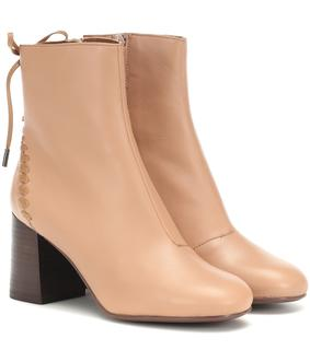 See by Chloé - Ankle Boots Reese aus Leder