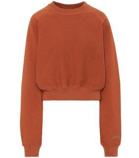 Reebok x Victoria Beckham - Sweatshirt aus Baumwoll-Jersey