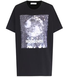Valentino Garavani - Verziertes T-Shirt aus Baumwolle