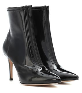 Gianvito Rossi - Ankle Boots Welch 85 aus Vinyl