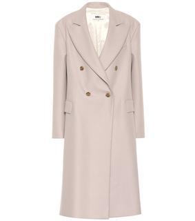MM6 Maison Margiela - Mantel aus einem Wollgemisch