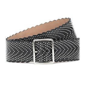 Alaïa - Verzierter Gürtel aus Leder