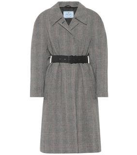 Prada - Mantel aus einem Wollgemisch