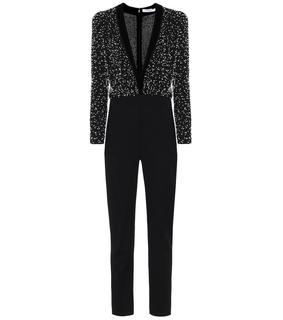 Givenchy - Verzierter Jumpsuit aus Wolle