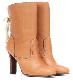 See by Chloé - Ankle Boots Lara aus Leder