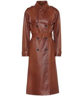 Prada - Trenchcoat aus Leder