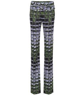 Prada - Bedruckte Hose aus Jersey