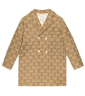 Gucci Kids - Mantel aus Wolle