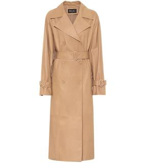 Loro Piana - Trenchcoat Bridger aus Leder