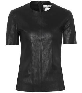 Bottega Veneta - T-Shirt aus Leder