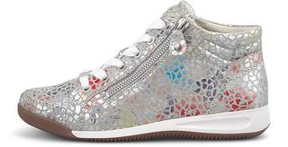 Jenny - Sneaker Scala-Konfetti-O in hellgrau, Schnürschuhe für Damen