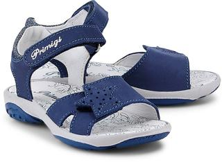 Primigi - Riemchen-Sandale in mittelblau, Sandalen für Mädchen