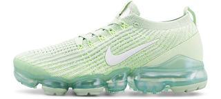 Nike - Sneaker Air Vapormax Flyknit 3 in mint, Sneaker für Damen
