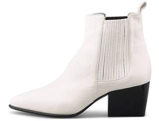 Pomme D´Or - Leder-Stiefelette in weiß, Stiefeletten für Damen