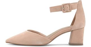 Tamaris - Spangen-Pumps in beige, Pumps für Damen
