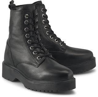 Another A - Schnür-Stiefelette in schwarz, Boots für Damen