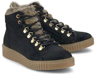 BULLBOXER - Schnür-Stiefelette in schwarz, Stiefel für Mädchen