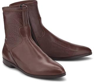 Truman's - Leder-Boots in mittelbraun, Stiefeletten für Damen