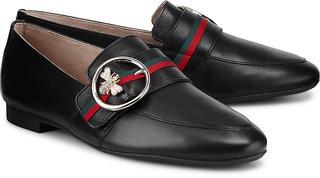 Paul Green - Trend-Slipper in schwarz, Slipper für Damen