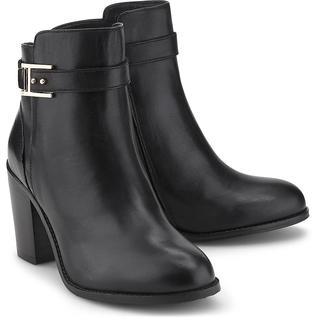 COX - Leder-Stiefelette in schwarz, Stiefeletten für Damen