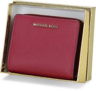 MICHAEL KORS - Geldbörse Md Za Snap Wallet in bordeaux, Geldbörsen für Damen