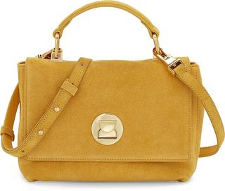 coccinelle - Handtasche Liya Suede in gelb, Henkeltaschen für Damen