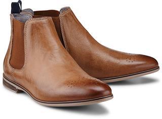 Drievholt - Chelsea-Stiefelette in mittelbraun, Boots für Damen