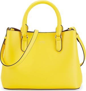 Lauren Ralph Lauren - Handtasche Marcy Ii Satchel Mini in gelb, Henkeltaschen für Damen