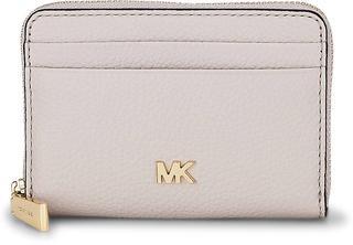 MICHAEL KORS - Geldbörse Za Coin Card Case in beige, Geldbörsen für Damen