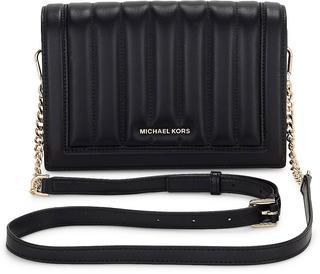 MICHAEL KORS - Tasche Jet Set Lg Fullflap in schwarz, Umhängetaschen für Damen