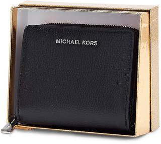 MICHAEL KORS - Geldbörse Md Za Snap Wallet in schwarz, Geldbörsen für Damen